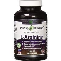 Amazing Formulas L-Arginine - 1000 mg, 120 Tablets