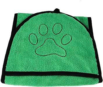 yuehuxin Toalla de Microfibra Especial para Mascotas, Perros, Gatos, Secado en seco, Toalla de baño de Microfibra: Amazon.es: Hogar