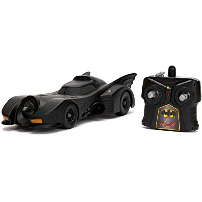 Jada 30331 Hollywood Rides DC Comic Batman 1989 Batmobile RC Radio Control Toy Vehicle: Toys & Games