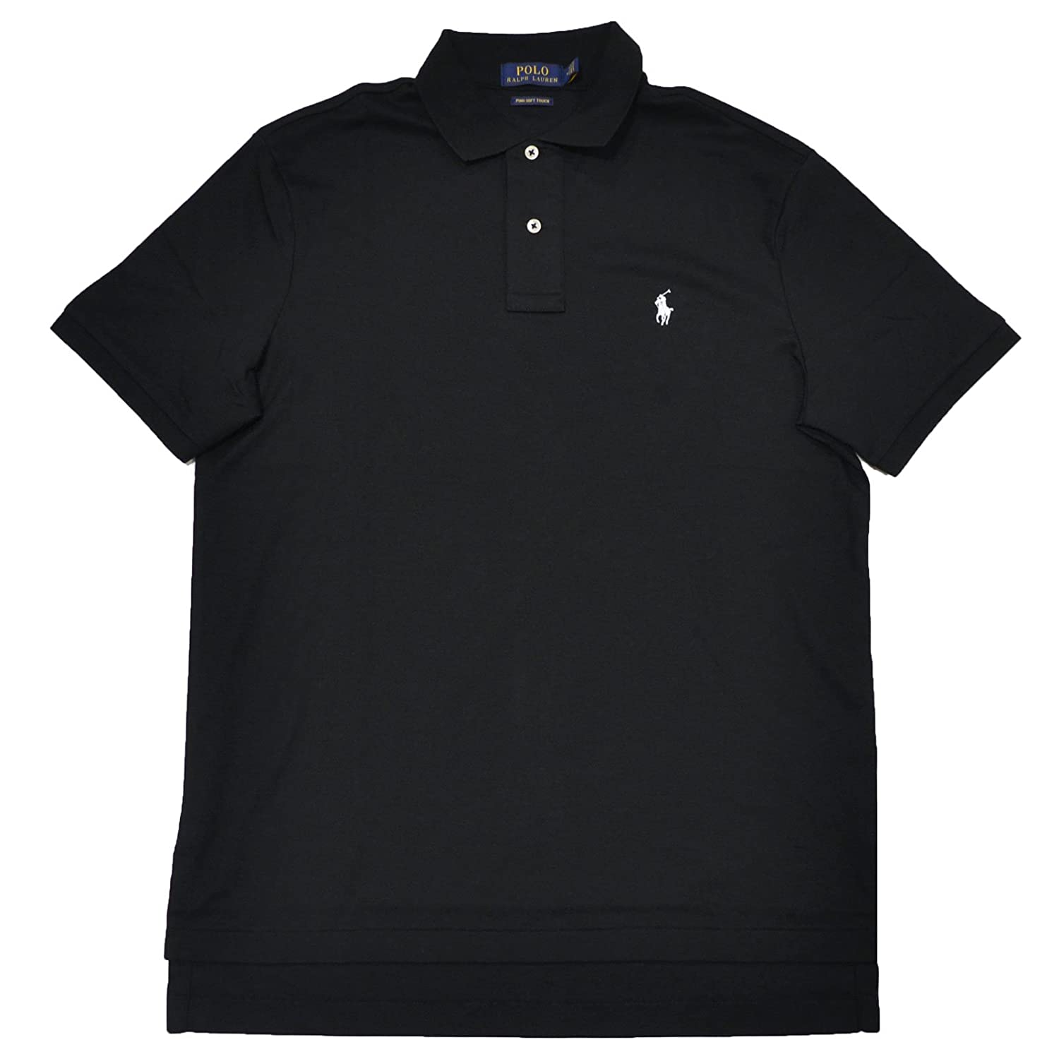 74d9c5107 Polo Ralph Lauren Mens Pima Soft Touch Interlock Polo Shirt at Amazon Men s  Clothing store