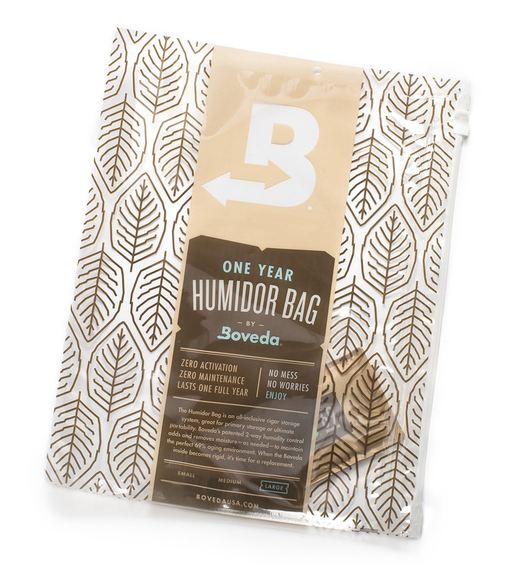 Boveda Humidor Bag -Large Travel Humidor, 16 X 12 Inch Perfect Humidor Bag for Cigars