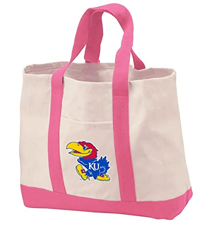 Amazon.com: Universidad de Kansas bolsa bolsas bolsa de ...