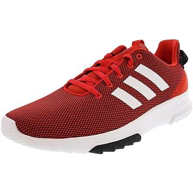 b0b269e0e adidas Men's Cloudfoam Racer TR Scarlet/Footwear White/Core Red 7.5 ...