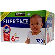 Kirkland Diapers - Size 6 - 120 ct