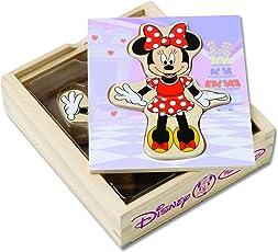Minnie Wooden Mix and Match Dress-Up Play Set