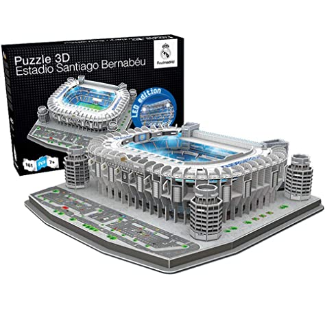 Nanostad - Estadio Santiago Bernabeu, puzzle 3D: Amazon.es: Deportes y aire libre