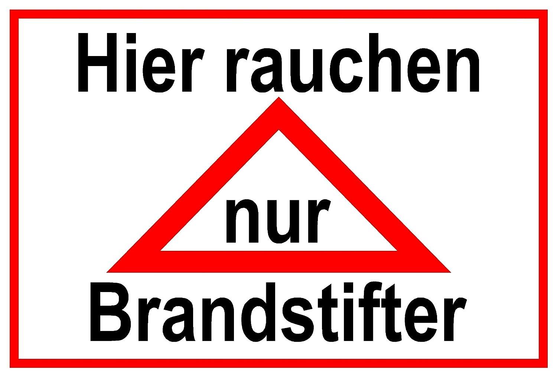 Cartel de Advertencia de aluminio - Aquí fumar solo Brand ...