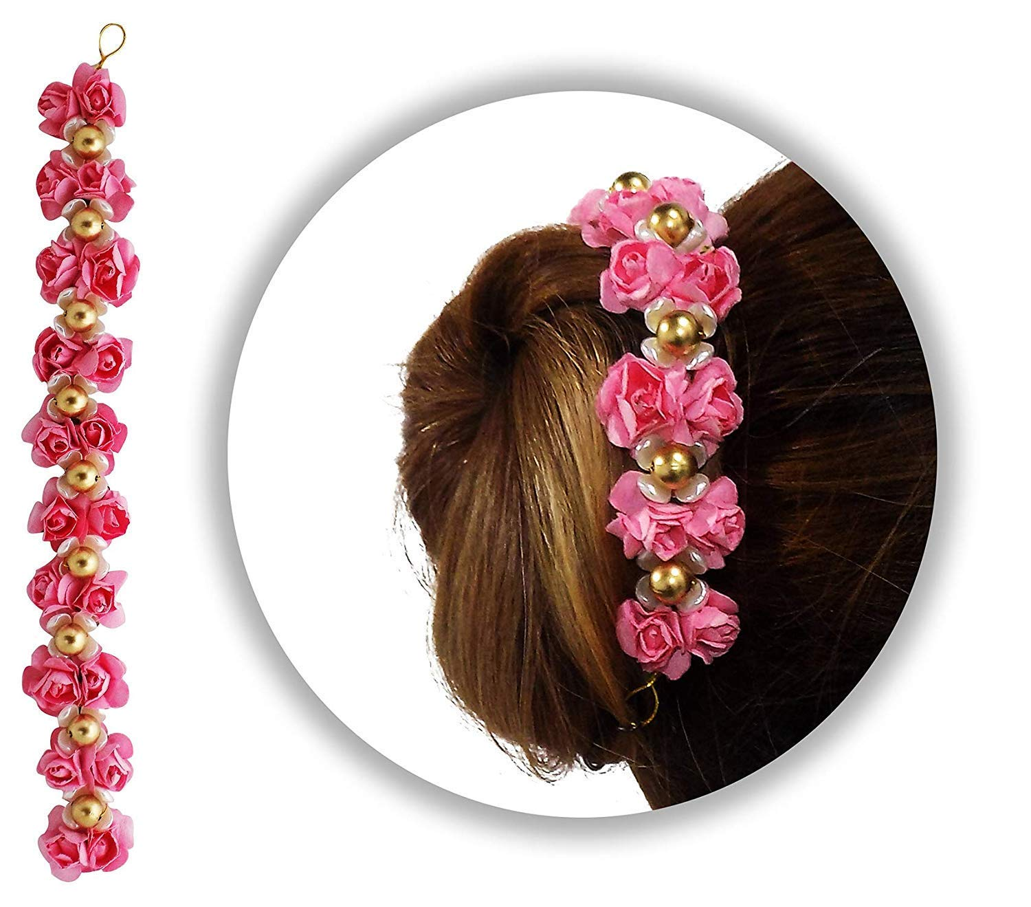 Buy AASA South Indian Hair Styling Hair Accessories, Garba