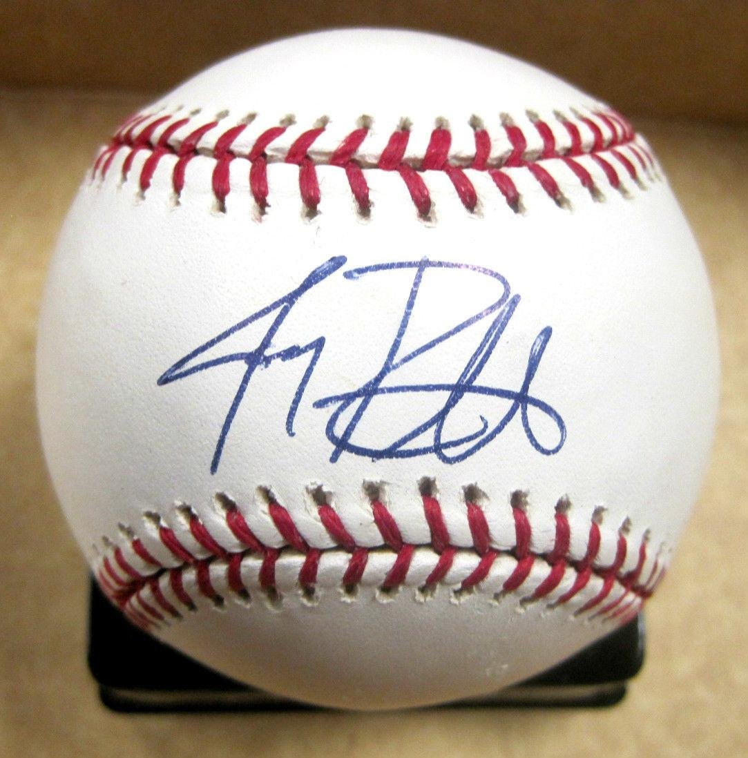 Jay Rainville Minnesota Twins Signed Autographed Major League Baseball W/coa - Autographed Baseballs All Star Cards and Collectibles