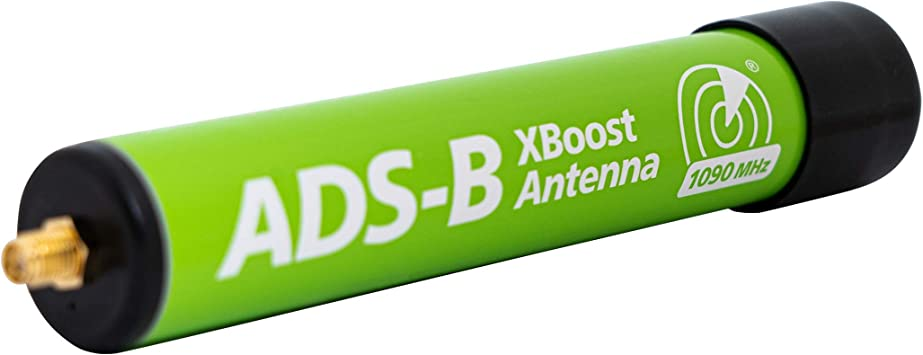 AirNav ADS-B - Antena XBoost de 1090 MHz con conector SMA