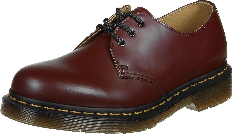 Rot Dr. Martens Damen 1461 Last 264 Smooth Schuhe