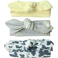 Ecroon Niñas diadema arco recién nacido bebé ducha regalo chica chicas diademas 3Pcs/set