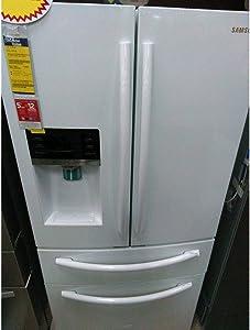 Samsung RF25HMEDBWW/AA 25 cu. ft. 4-Door French Door Refrige
