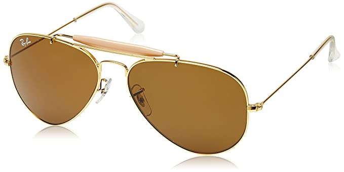 aabc8337b12aa7 Image Unavailable. Image not available for. Colour  Ray-Ban UV protected  Aviator Men s Sunglasses (0RB3129I W1504 58 millimeters