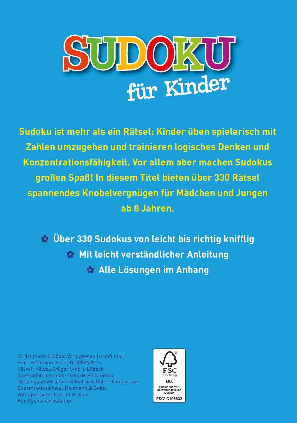 Sudoku für Kinder: Über 360 spannende Rätsel: Amazon.de: Bücher