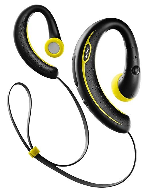 78 opinioni per Jabra Auricolari Stereo Sport Plus Wireless Bluetooth, Nero/Giallo