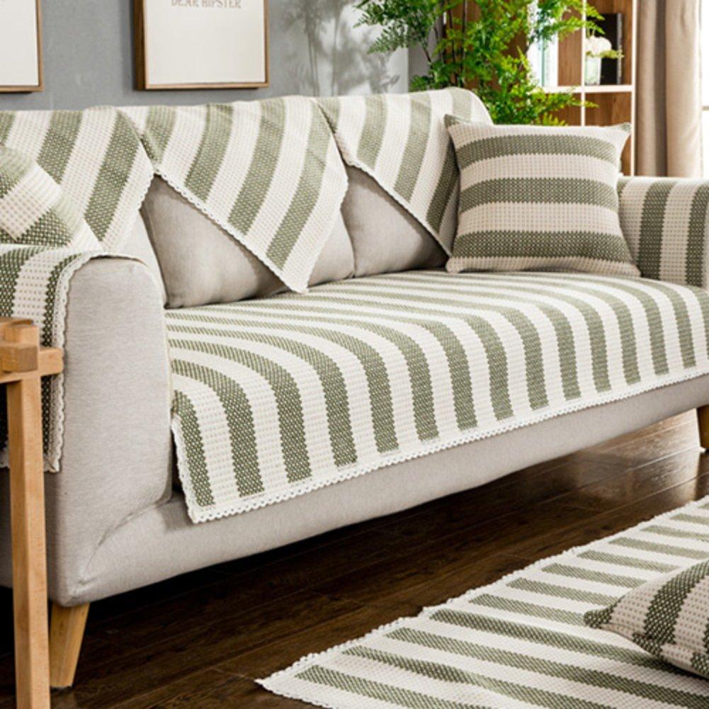 Amazon.com: SAFAJINHH Sofa slipcover,Solid Color Sofa Covers ...