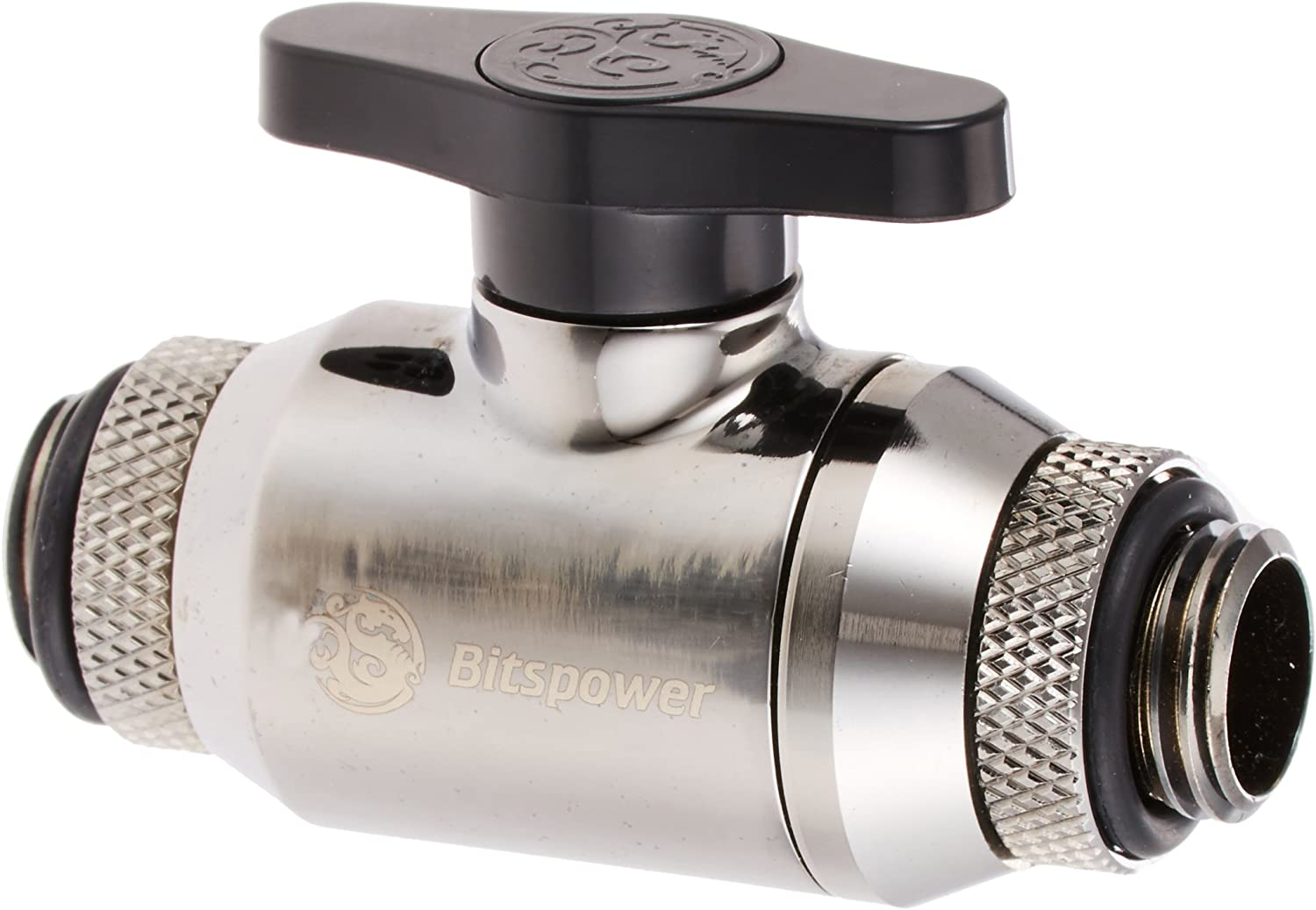 Mini Valve with G 1//4 Inch Extender 360 Degree Rotation Bitspower G1// 4 Inch Sled Dual Rotary