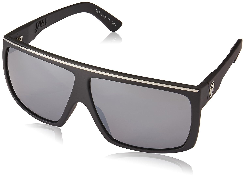 11dcd85900 Amazon.com  Dragon Alliance 720-2372 Fame H2O Matte Black   Plasma Ionized  Sunglasses  Sports   Outdoors