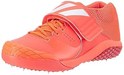 new product c8101 d888d adidas Unisex Adults Adizero Javelin Athletic Sandals, (Solar RedFTWR  White