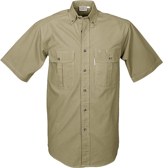Tag Safari - Camiseta de Manga Corta para Hombre (Talla M), Color Caqui: Amazon.es: Ropa y accesorios