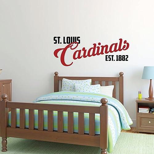 Amazon Com St Louis Cardinals Est 1882 Wall Decor Baseball