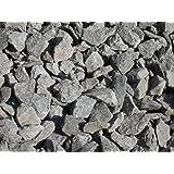 75 kg Anthrazit Basaltsplitt 16-32 mm - Basalt Splitt Edelsplitt Lava Lavastein - LIEFERUNG KOSTENLOS