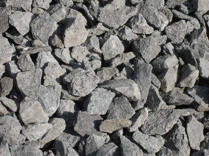100 kg Schwarz Basalt Splitt Edelsplitt Lava Lavastein Anthrazit Basaltsplitt 8-16 mm LIEFERUNG KOSTENLOS