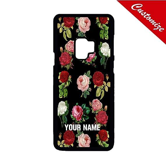 amazon com artsbaba samsung galaxy s9 case roses vintage