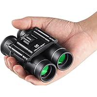 QUNSE 10x25 Mini Binoculars Compact Design, Clear Optical Lens, Ultra-Vision, for Bird Watching Pocket Size