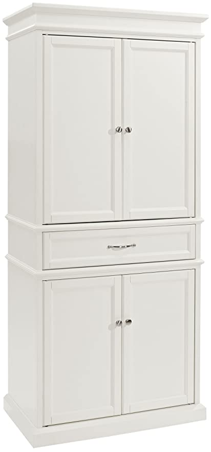 Etonnant Crosley Furniture Parsons Pantry Cabinet   White
