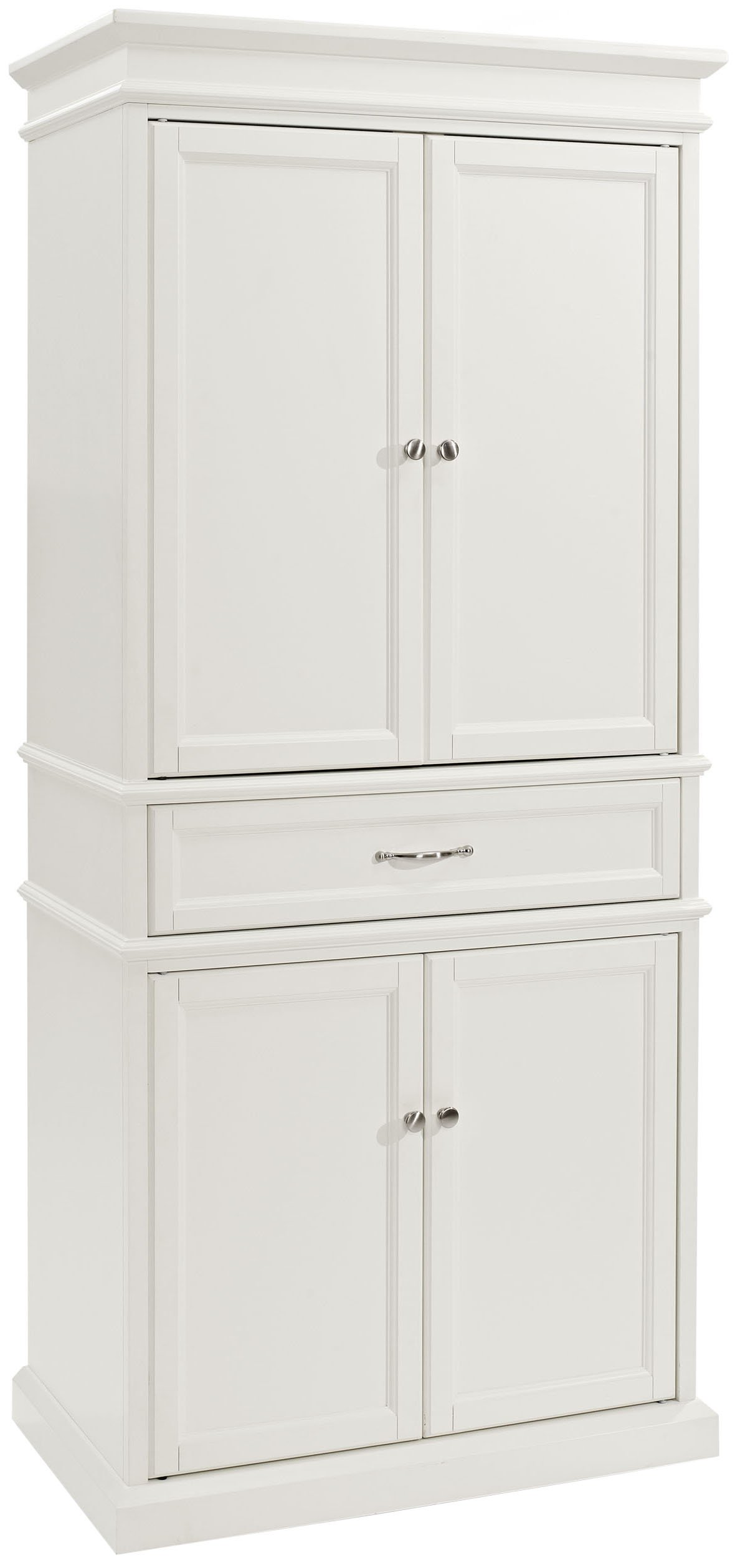 Crosley Furniture Parsons Pantry Cabinet - White