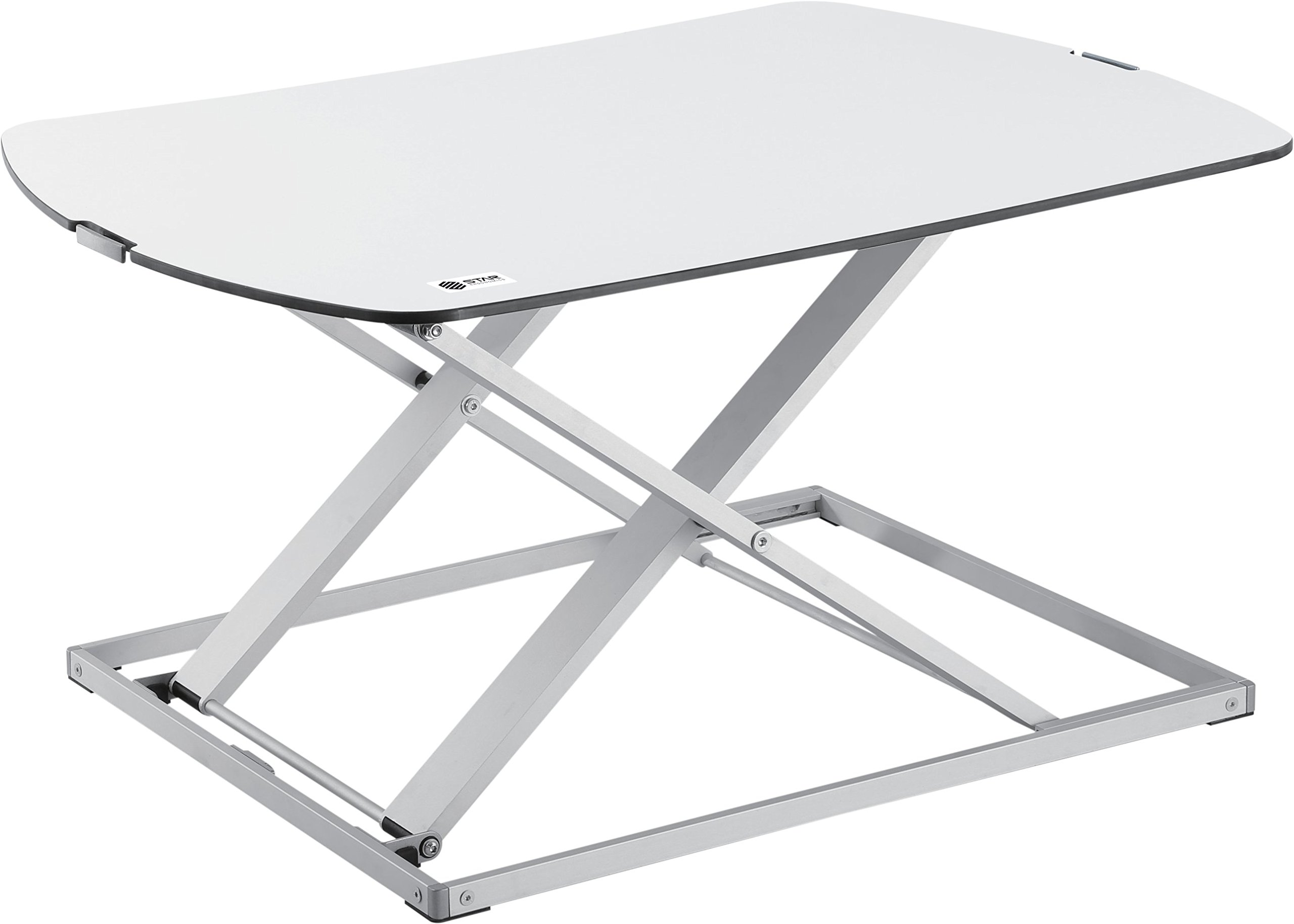 Star Ergonomics Ultra Slim Compact Standing Desk, White (SE03M1WW) by STAR ERGONOMICS
