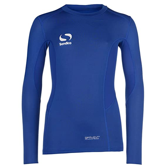 SONDICO Boys Base Layer Long Sleeve Top or Leggings Bottoms Sports Compression
