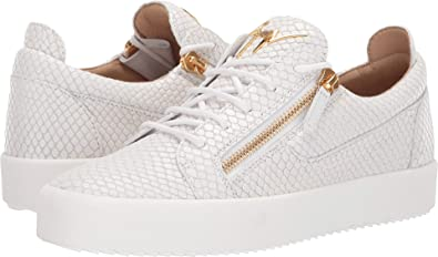 90407fd20a5ec Amazon.com | Giuseppe Zanotti Men's Frankie Pyton Low Top Sneaker ...