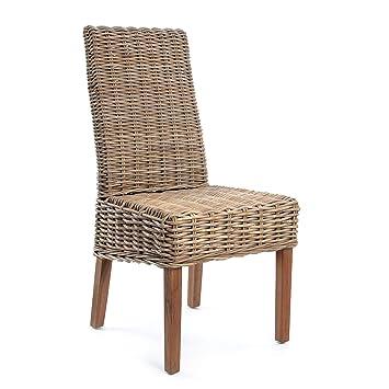 Skalny Kooboo Rattan Chair, 38.5u0026quot;, ...