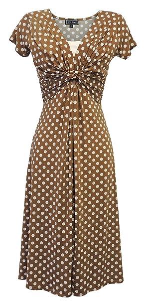Viva-la-Rosa - Vestido - para mujer marrón 38
