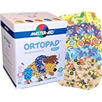 Ortopad Bamboo for Boys, Adhesive Eye Patches, (50 per Box) (Regular Size)
