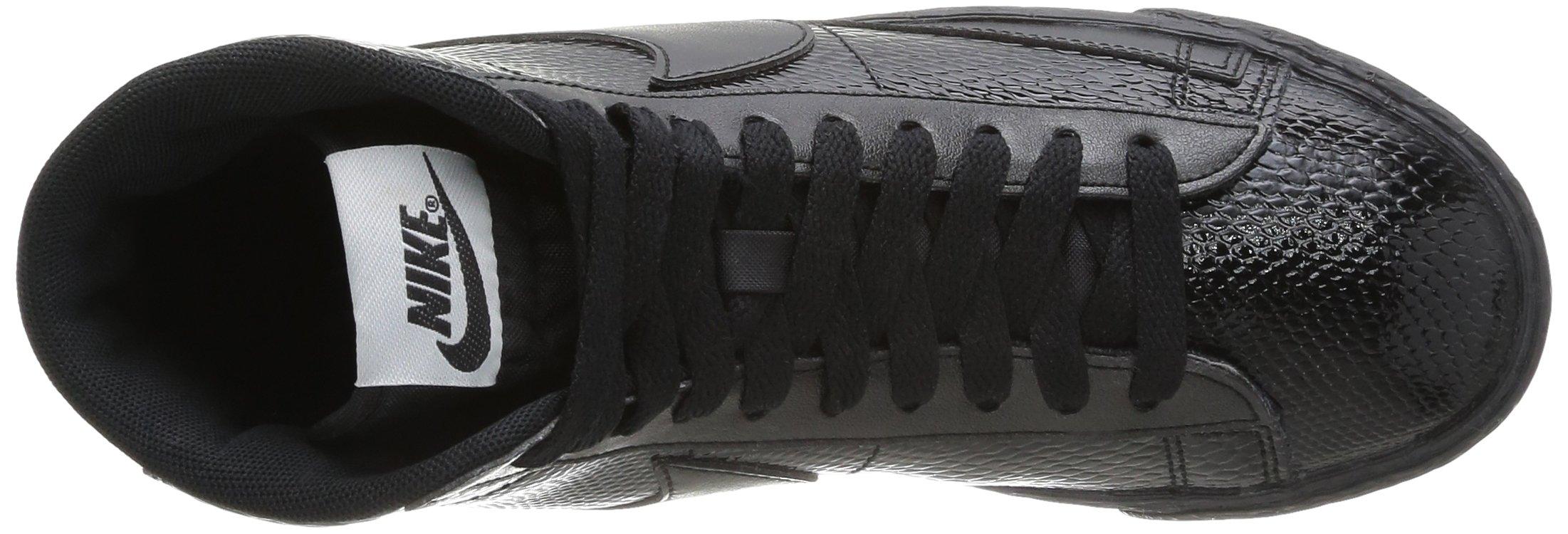 Nike Women's Blazer MID LTR PRM Black 685225-001 (SIZE: 8) by NIKE (Image #7)