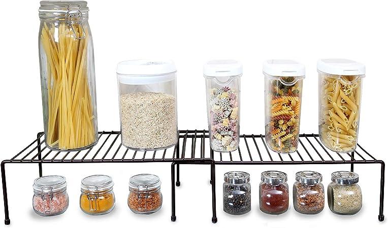 Smart Design Cabinet Storage Shelf Rack