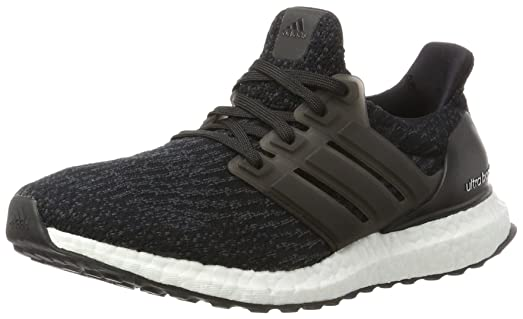 Adidas SS17 Mens UltraBoost Running Shoes - Black/Grey - Neutral - US 7 -