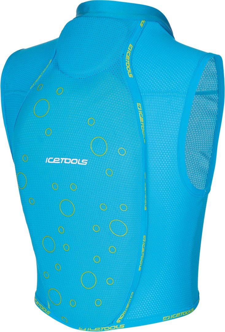Icetools Mini Kid Protector Blau Lime 17 18