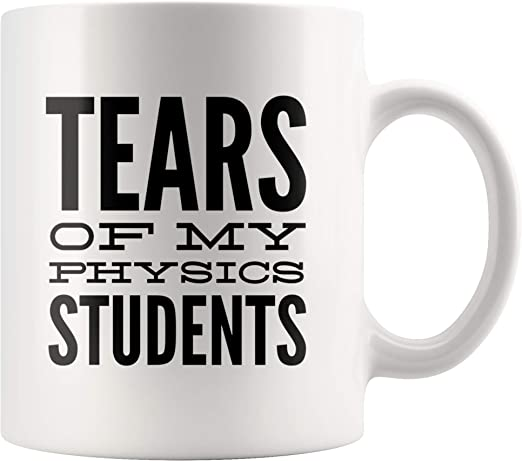 cer/ámica Tears of My Students dise/ño con texto en ingl/ésTears of My Students Taza de caf/é