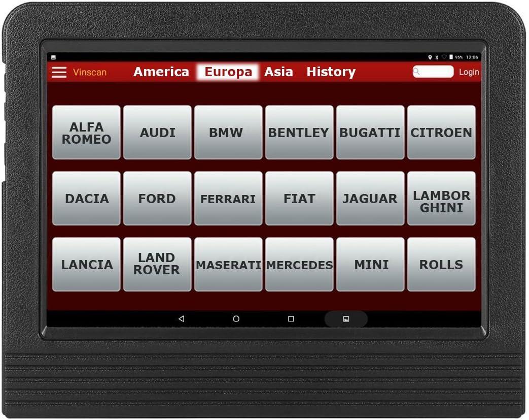 LAUNCH X431 V+ Tablet Diagnóstico Profesional Multimarca 2 años actualizacion ES
