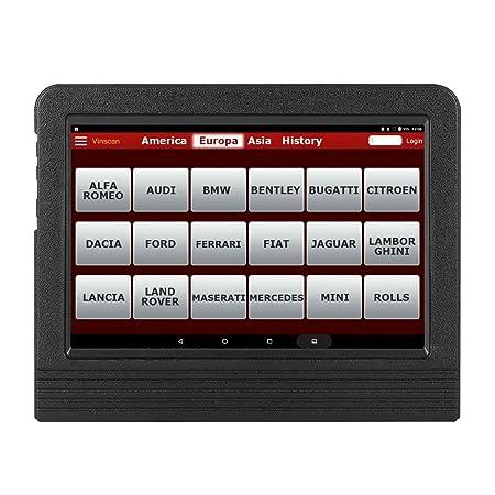 LAUNCH X431 V+ Tablet Herramienta Diagnóstico Profesional Multimarca OBD2 dbscar5 WiFi Bluetooth 7000 mAh 2 años Actualizaciones Software Idioma ESPAÑOL: ...