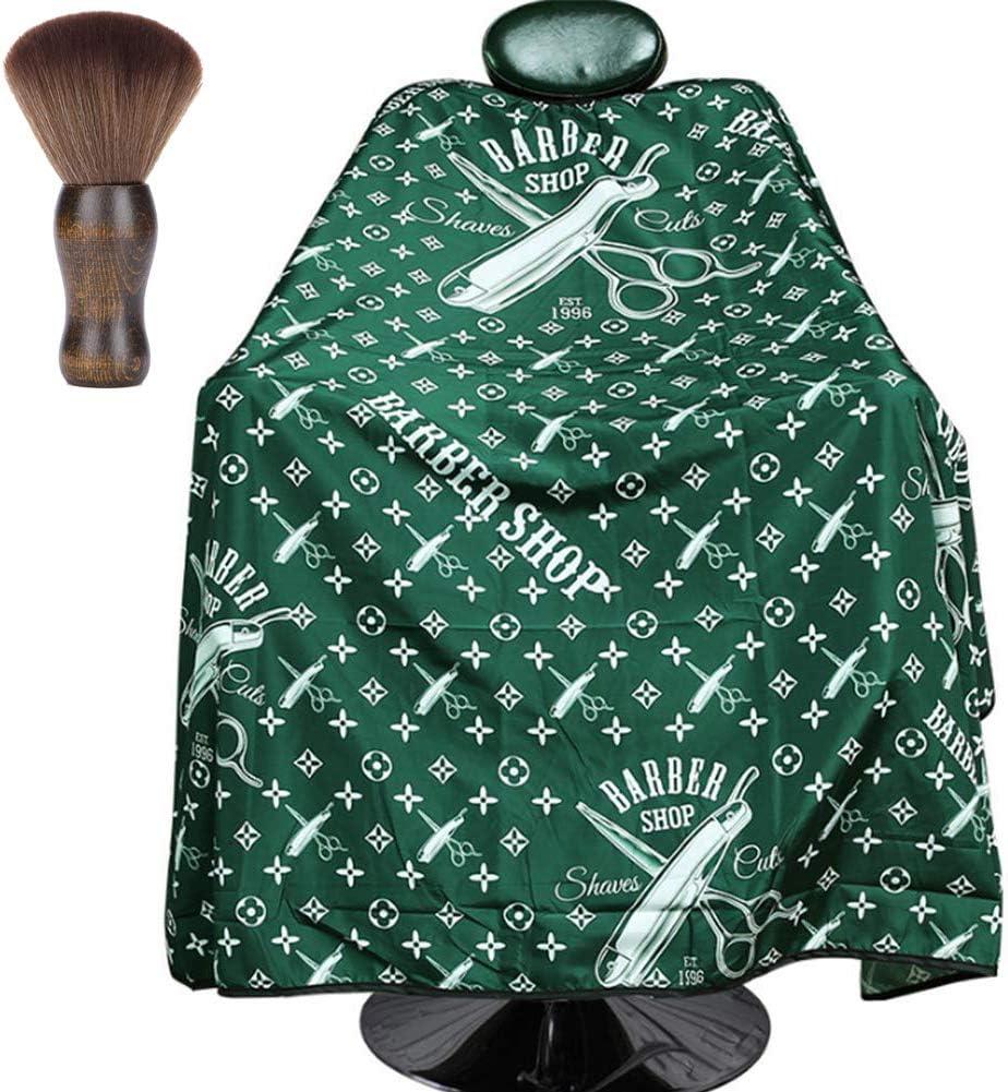 Hombres Barbero Capa Salón Peluquería Corte De Pelo Capa ...