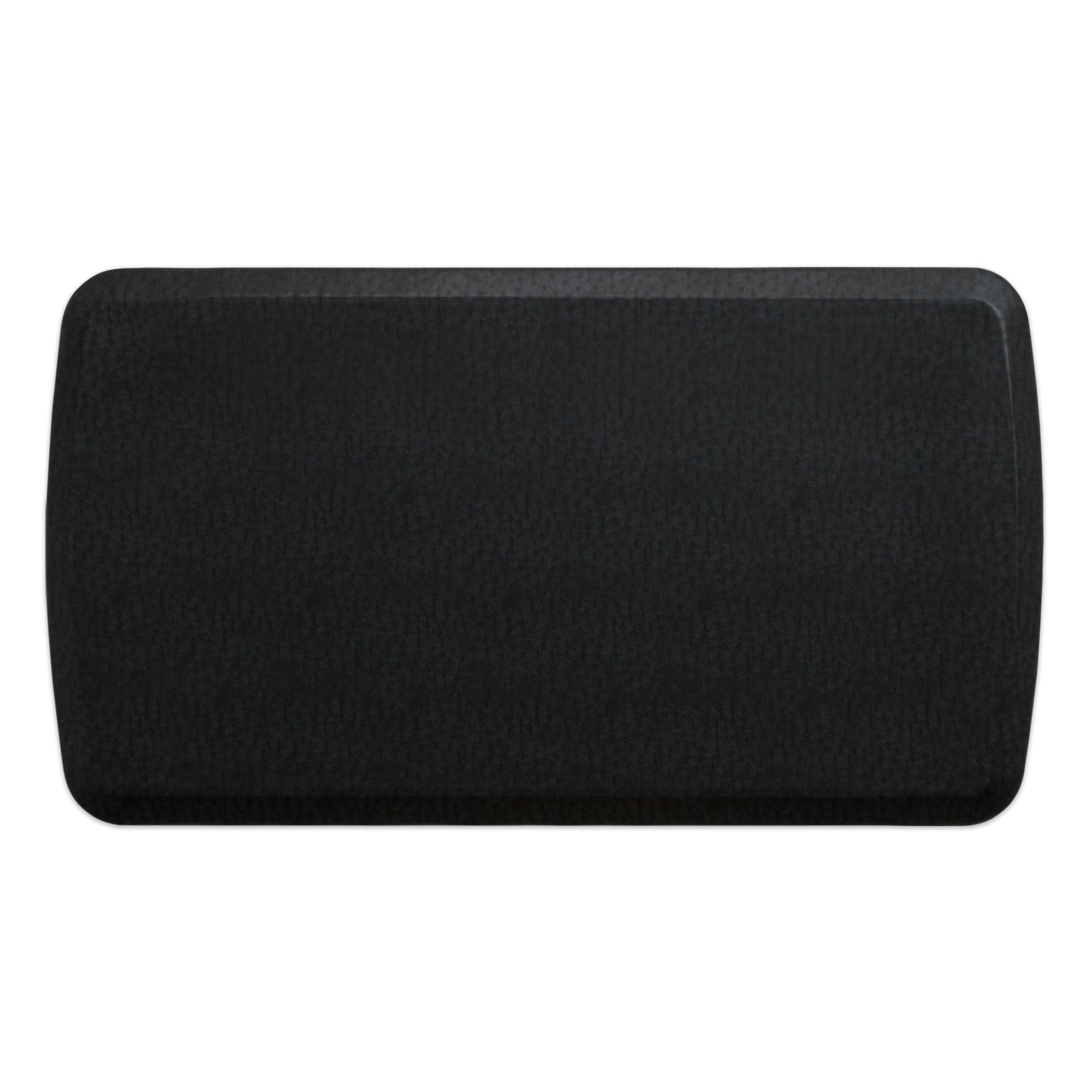 """GelPro Elite Premier Anti-Fatigue Kitchen Comfort Floor Mat, 20x36"""", Quill Black Stain Resistant Surface with therapeutic gel and energy-return foam for health & wellness"""