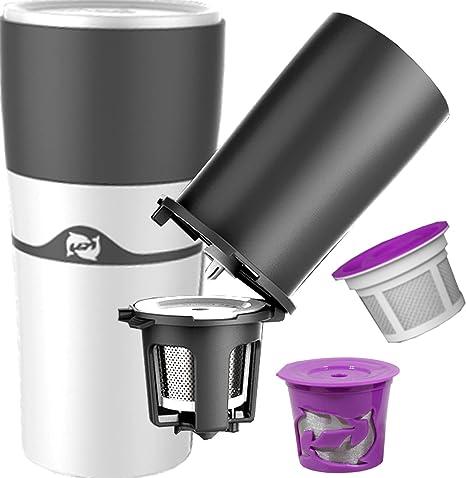 Amazon.com: pureblue Brew – KCup taza de viaje & Pour más de ...