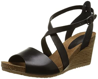 88372f2fde578 Kickers Spagnol, Sandales compensées femme  Amazon.fr  Chaussures et ...