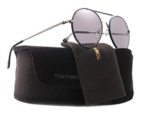 d953b3e6e2dbf Tom Ford Sunglasses TF 246 BLACK 09N SAMUELE  Amazon.co.uk  Clothing
